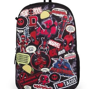Dead Pool Backpack (NEW)